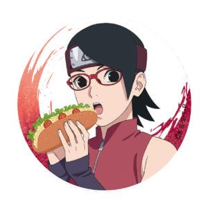 BORUTO【描き下ろし】缶バッジ サラダ