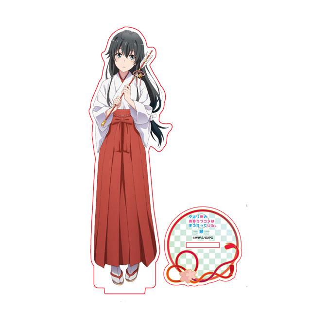 【描き下ろし】巫女 雪乃アクリルスタンド