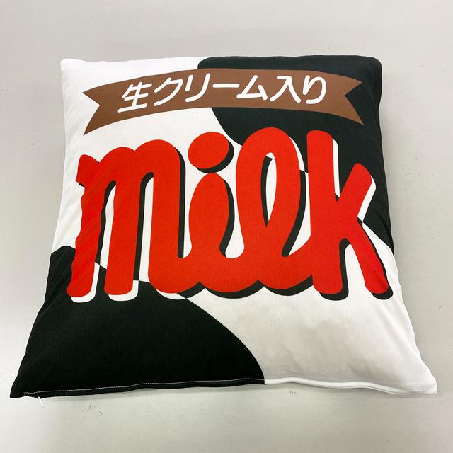 ミルク クッションカバー