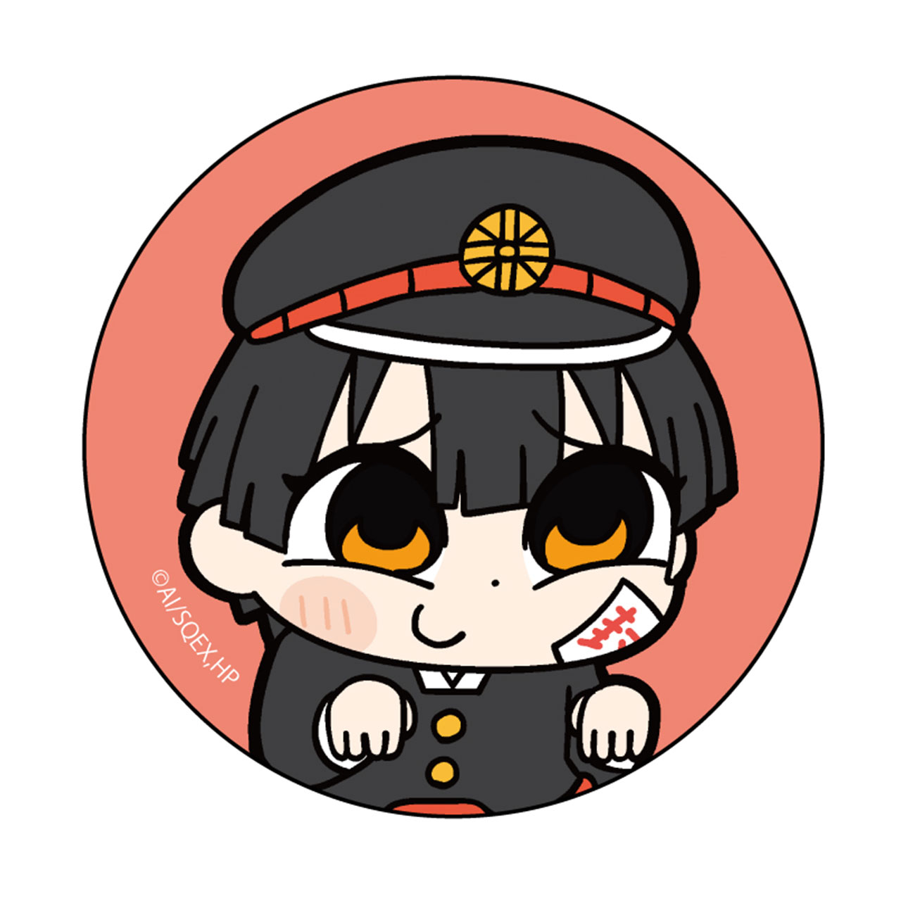 大川ぶくぶ先生描き起こし 花子くん②缶バッジ
