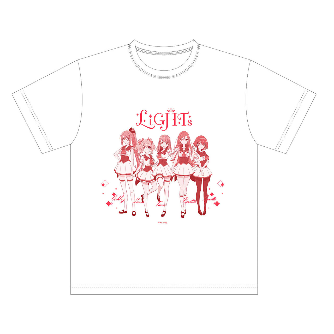 LiGHTs Tシャツ 白