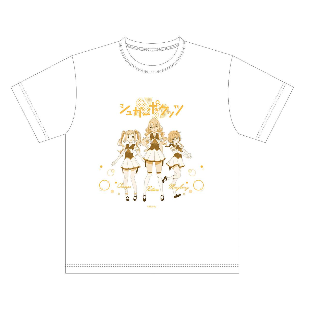 シュガーポケッツ Tシャツ 白