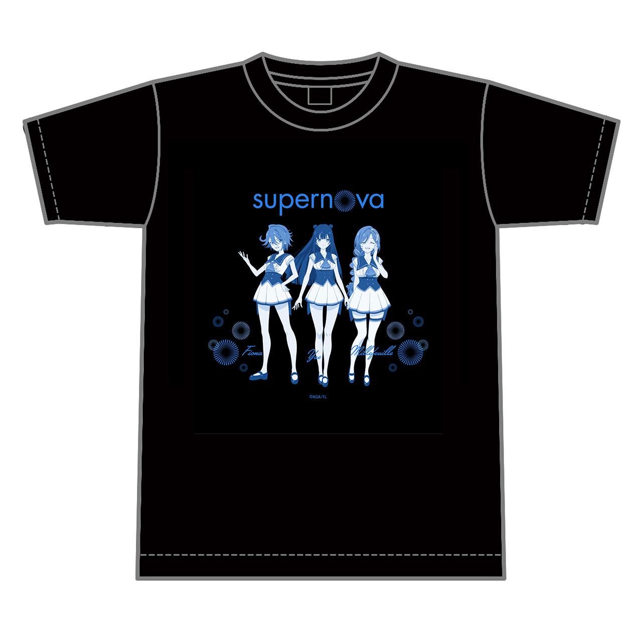 supernova Tシャツ 黒
