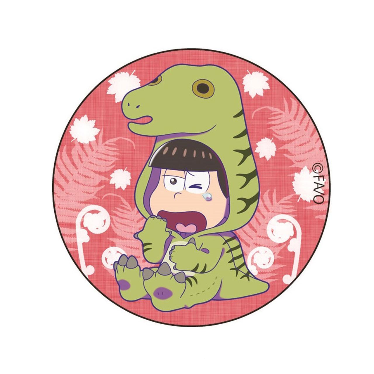 おそ松さん フクイサウルス おそ松 缶バッジ