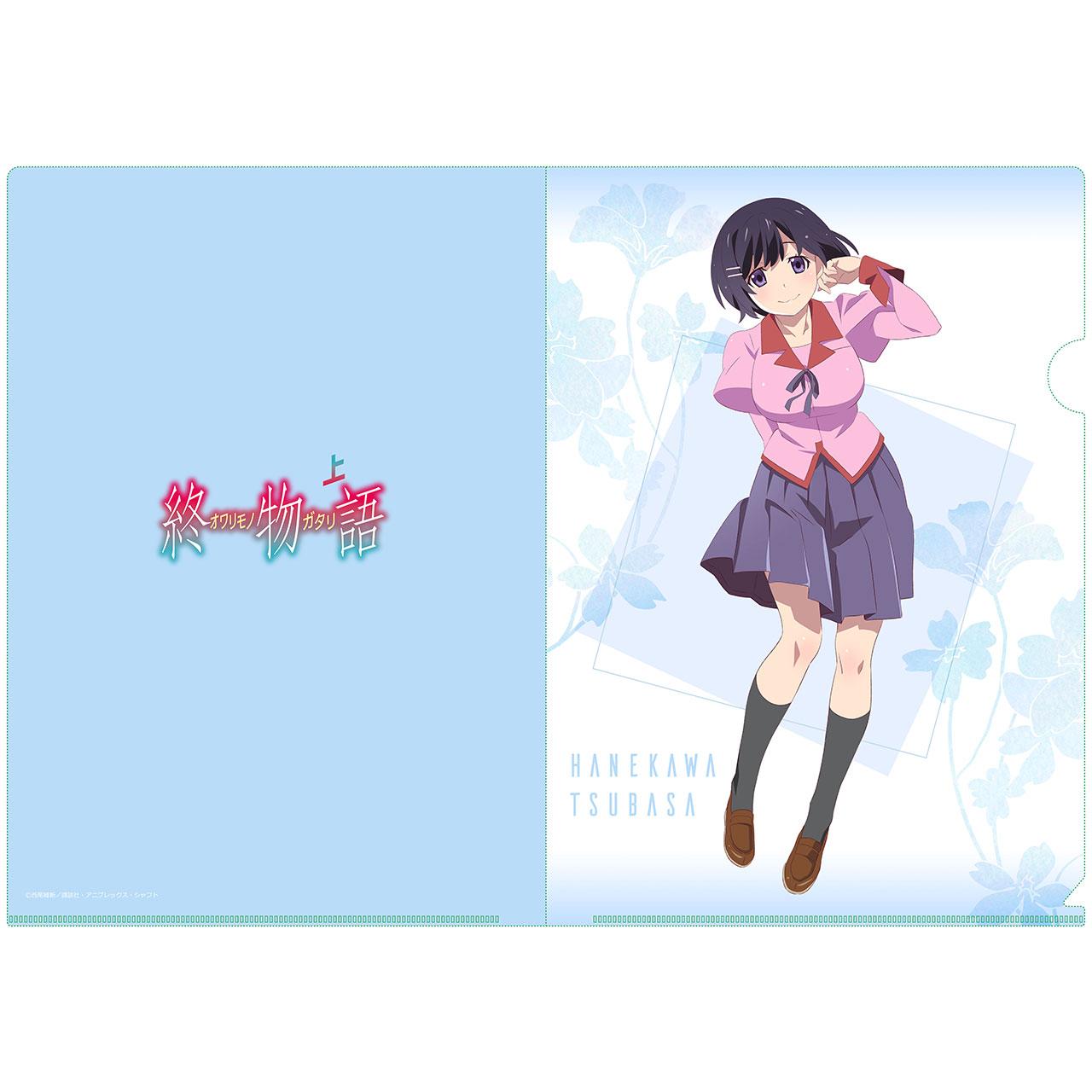【描き下ろし】羽川翼 A4クリアファイル