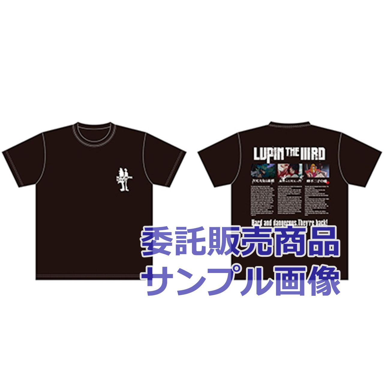 Tシャツ3titles 黒
