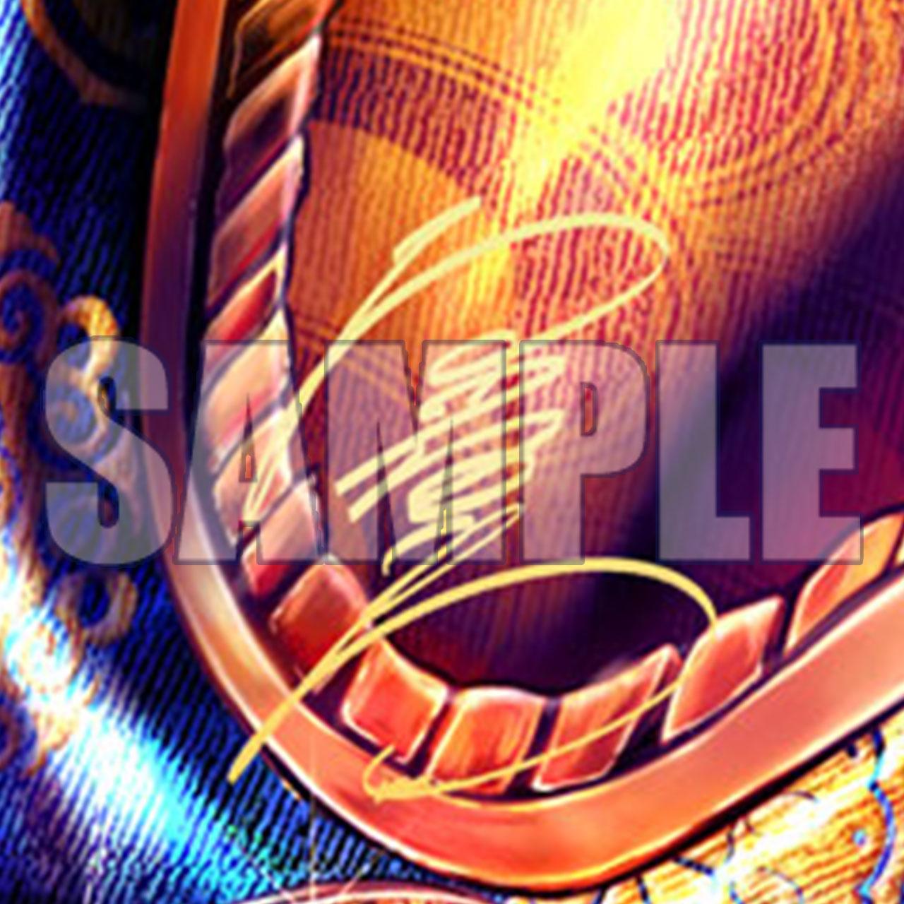 熱血タペストリー B 金色箔押しサイン付きver.イメージ