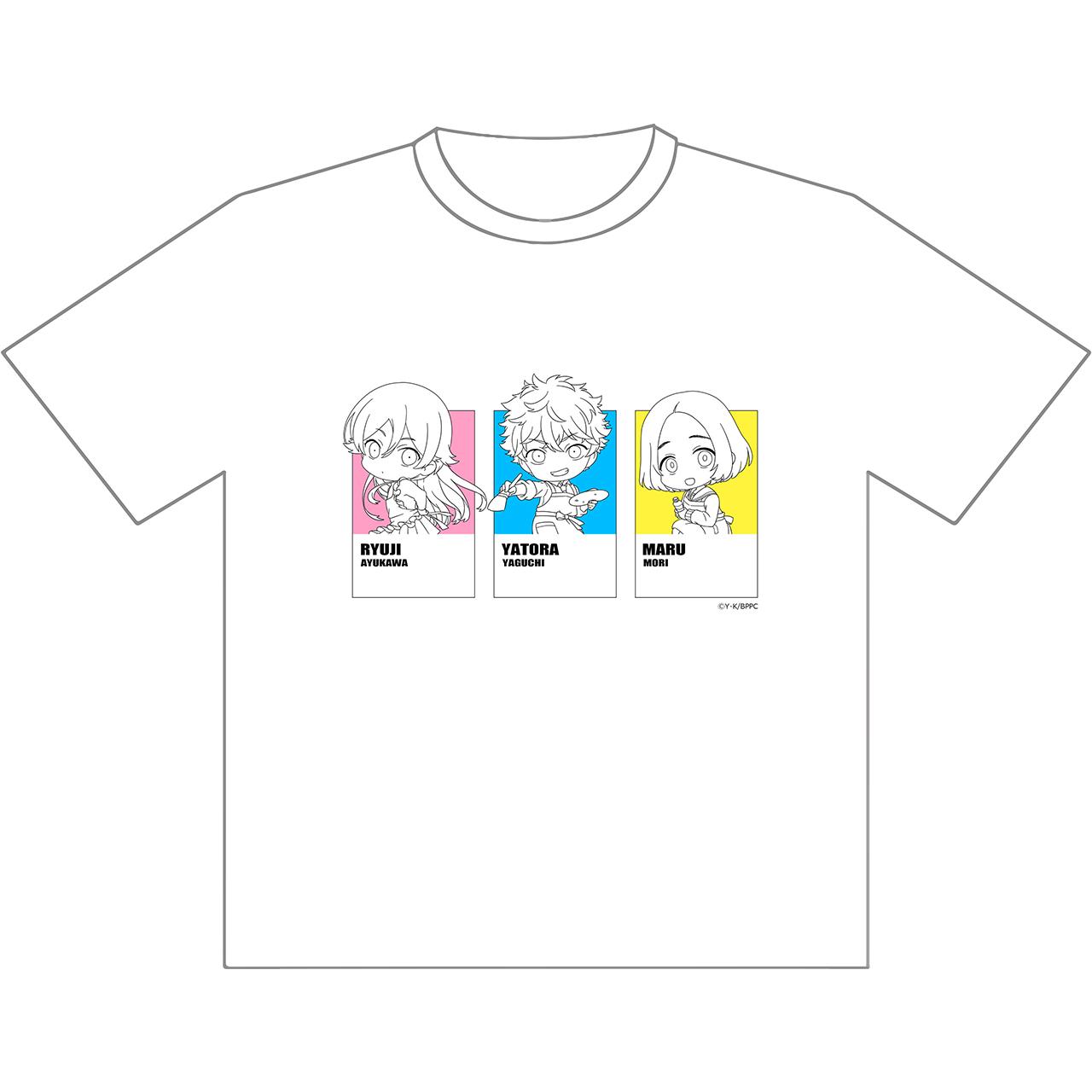 Tシャツ(矢虎&龍二&まる)