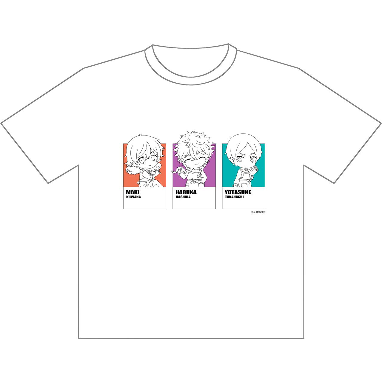 Tシャツ(悠&マキ&世田介)